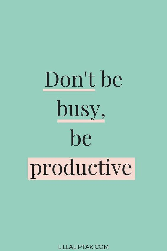 Inspirational Quotes GIrl Boss Being Productive Positive Words for Women Lilla Liptak