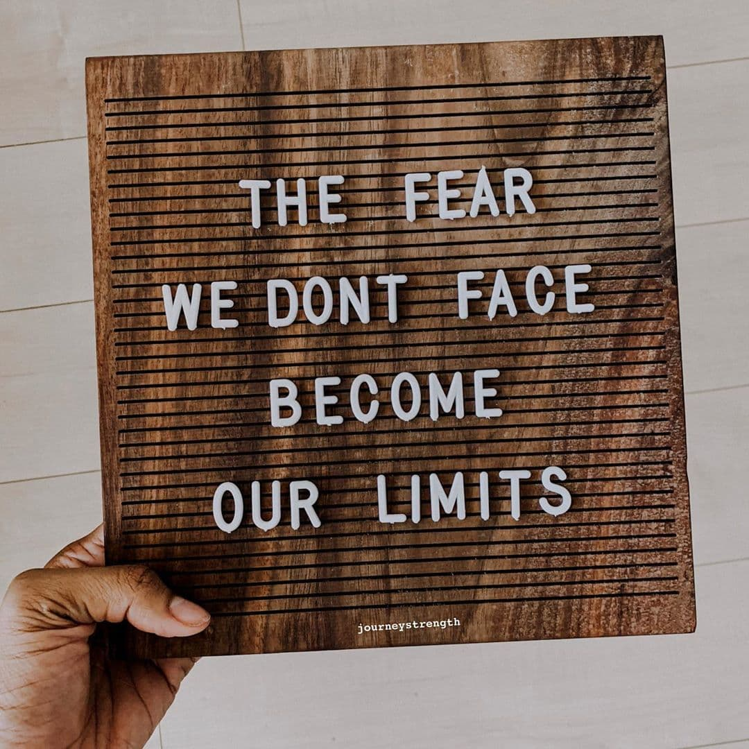 Inspirational Quotes for Women Face Your Fears Motivation for Life Journey Strength Rachael Adams